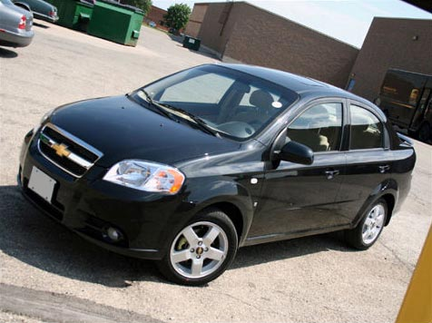 Our clients' favourite rent-a-car: the Chevrolet Aveo