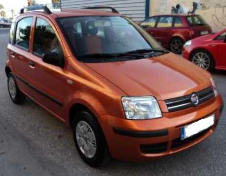 Economic Car Rental: Fiat Panda